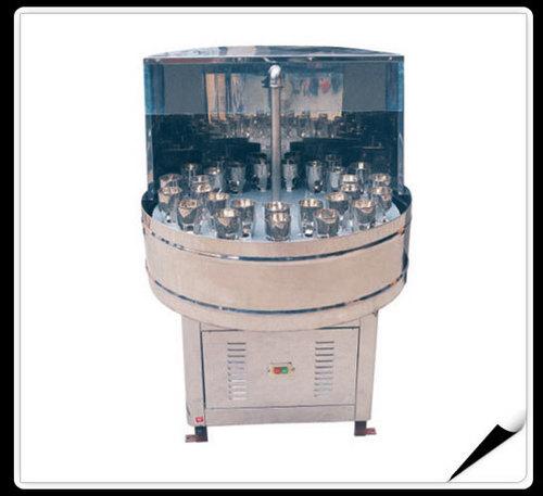Semi-Auto Bottle Washing Machine