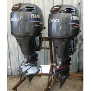 """200HP 25"""" HPDI Outboard Motors"""