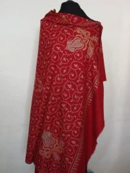 Red Color Shawl
