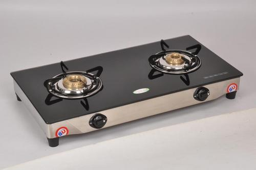 Double Burner Glass Top Stove