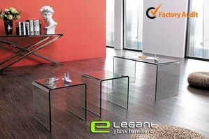 Glass Table (Cb180)