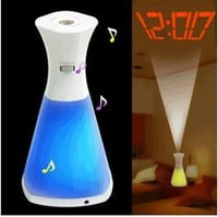 Color Changing LED Projection Clock