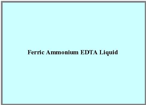 Ferric Ammonium Edta Liquid
