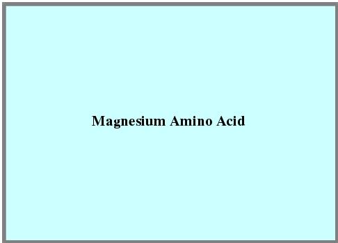Magnesium Amino Acid