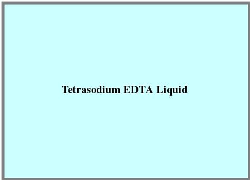 Tetrasodium Edta Liquid