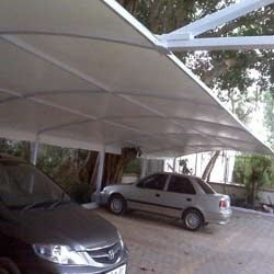 Outdoor Canopy with Steel Frame