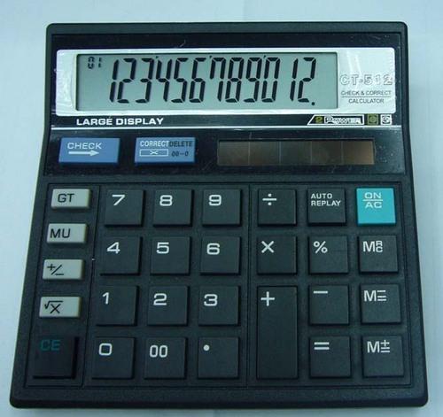 Solar Electronic Calculator (Ct-512)