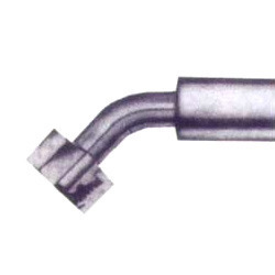 Metric Female Swivel 45° Elbow With 'O' Ring