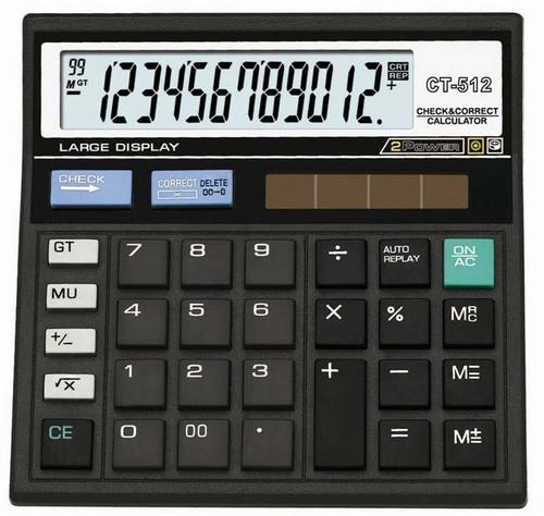 Electronic Calculator CT-512