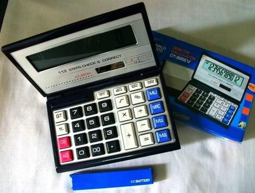 Clip Calculator CT-8855V