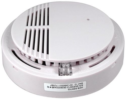 Wireless Zigbee Smoke Sensor WZB-SSM703