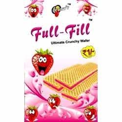 Strawberry-Flavor-Wafer