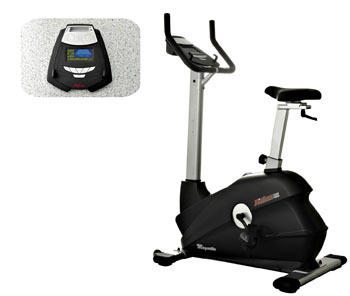 FitLux 5000 Magnetic Upright Exercise Bike