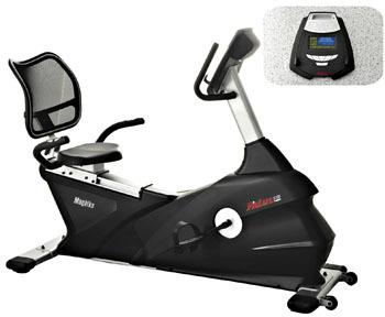 FitLux 5100 Magnetic Recumbent Exercise Bike