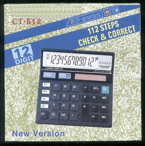 Check Correct Solar Cell Calculator (CT-512)