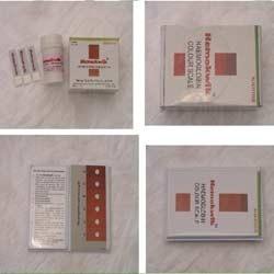 Hemokwik-Haemoglobin Colour Scale