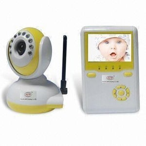 LCD Baby Monitor with Wireless Camera 2.5-inch