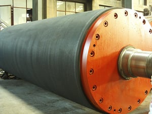 Blind Drilling Press Roll For Paper Machine