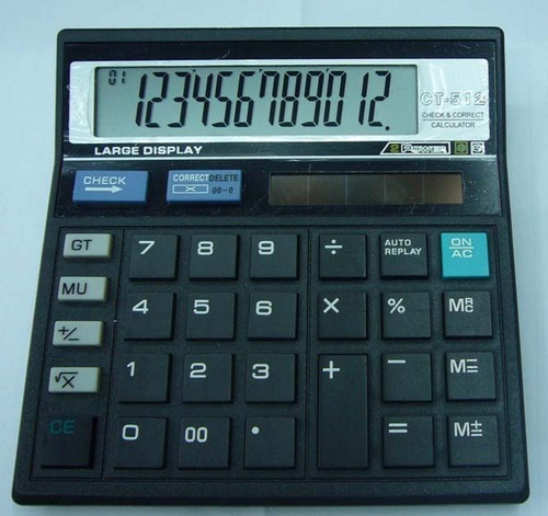 Desktop Office Calculator CT-512