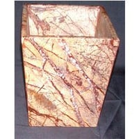 Brown Forest Marble Planter
