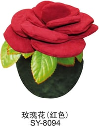 Rose Fabric Bamboo Charcoal Flower