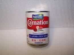 Skimmed And Evaporated Milk