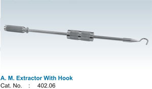 A. M. Extractor With Hook