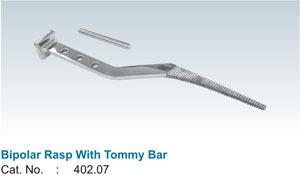 Bipolar Rasp With Tommy Bar