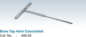 Bone Tap 4mm Cannulated