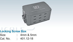 Locking Screw Box