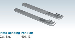 Plate Bending Iron Pair