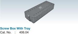 Screw Box With Tray (406.04)