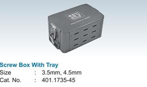 Screw Box With Tray