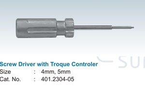 Screw Drive With Troque Controler