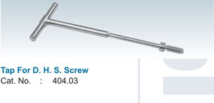 Tap For D.H.S. Screw