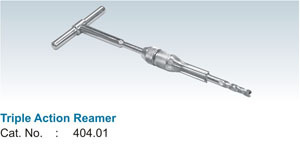 Triple Action Reamer