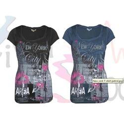 Half Sleeves Ladies T-Shirts