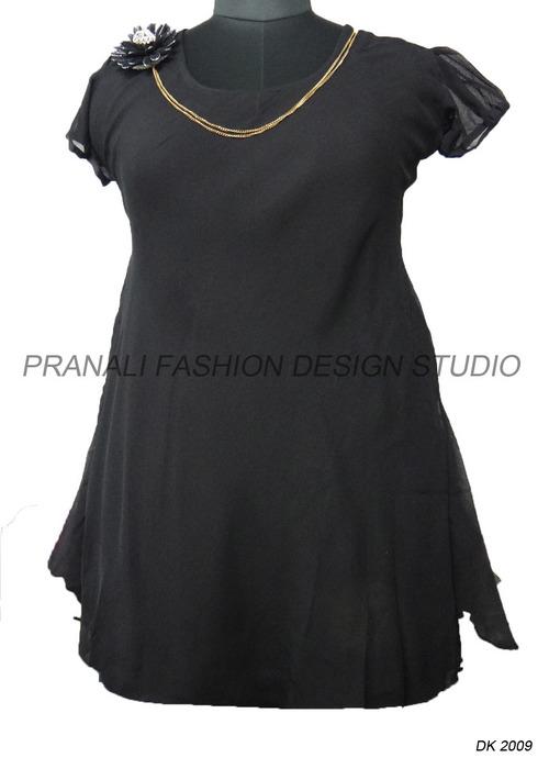 Ladies Black Kurtis At Best Price In Surat Gujarat Pranali Fashion Design Studio