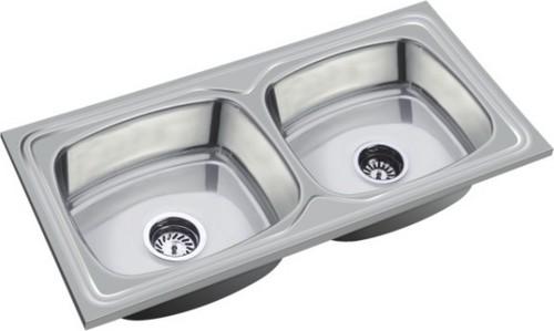 Kitchen Stainless Steel Double Sink