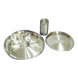 Silver Designer Dinner Set in  Chandni Chowk