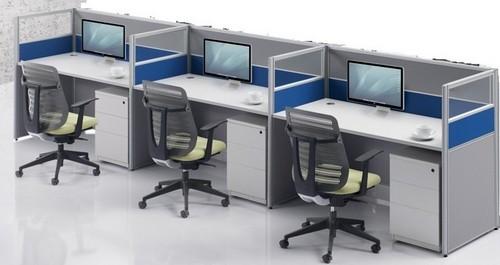 office cubicle desk. Desk Divider 3 Seater Office Cubicles Cubicle K