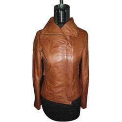 Women Brown Leather Coats