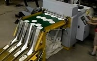 Automatic Waste Clearing And Counting Die Cutting Machine