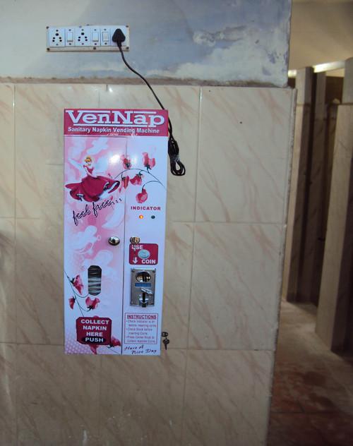 Sanitary Napkin Selling Machine - Vennap