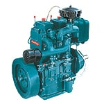 Double Cylinder Petter Engine