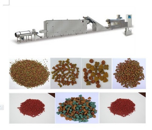 Automatic Floating Fish Feed Processing Machine