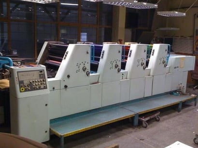 4 Colours Offset Machine POLLY 466