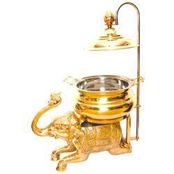 Decorative Brass Chafing Dish