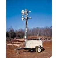 Trolley Mounted Flood Lighting Tower
