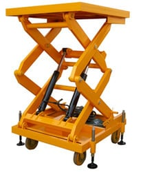 Hand Opearted Hydraulic Lift Table